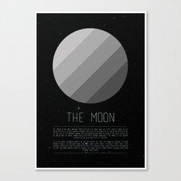 Galaxy Cake - The Moon Canvas Print