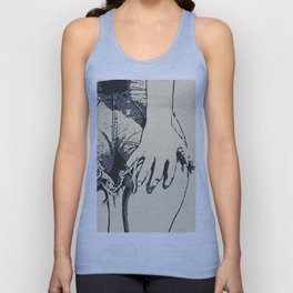 Grab that booty! Sexy girl in denim shorts, perfect onion butt, kinky thigh gap, we all love them Unisex Tank Top