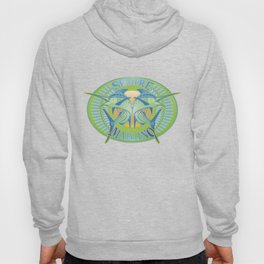 Green Marlin Hoody