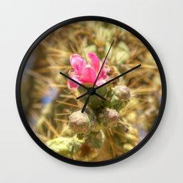 Colorful Danger  Wall Clock