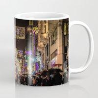 istanbul Mugs featuring Istanbul by Seza Kaymak