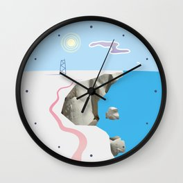 White Silence Wall Clock
