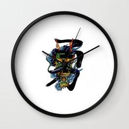 Brave Dragon Wall Clock