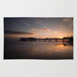 Cromer Pier Sunrise Rug