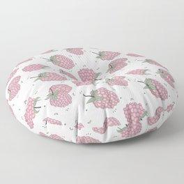 Pink raspberry Floor Pillow