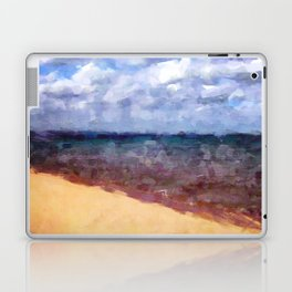 Beach Under Blue Skies Laptop & iPad Skin