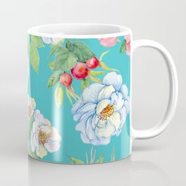 Vintage Floral Pattern No. 3 Coffee Mug