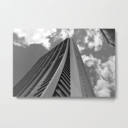 Skyscraper Chicago Metal Print