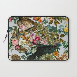 FLORAL AND BIRDS VI Laptop Sleeve