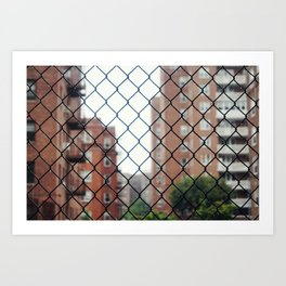 Seeing Through New York City Art Print