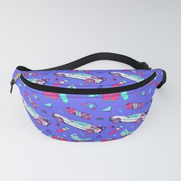 Back to The Future Pattern Fanny Pack