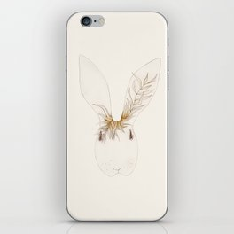 Miss Bunny Golden Brown iPhone Skin