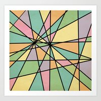 stained glass Art Prints featuring Stained Glass by Tammy Kushnir
