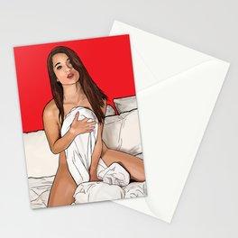 A portrait of Lana Lovelace Stationery Cards