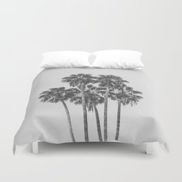 PALM TREES XI / Los Angeles, California Duvet Cover