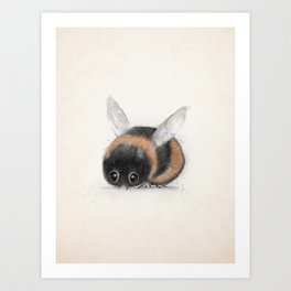 little bumble bee Art Print