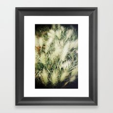 The warmth of earth Framed Art Print