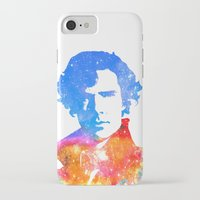 sherlock iPhone & iPod Cases featuring Sherlock by Fimbis