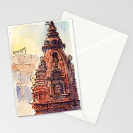 Bhaktapur Temple Stationery Cards