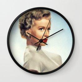 Deborah Kerr, Hollyood Legend Wall Clock