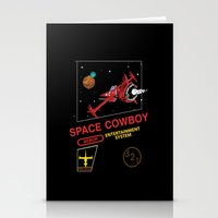 bebop Stationery Cards featuring NES Cowboy Bebop by IF ONLY