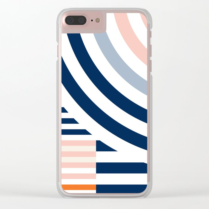 Connecting lines 3. Clear iPhone Case