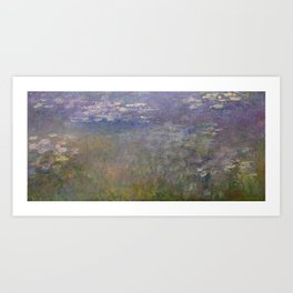 Monet, Water Lilies, 1915-1926 Art Print