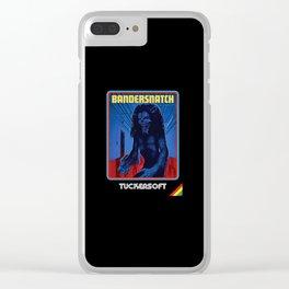Black Mirror Clear iPhone Case