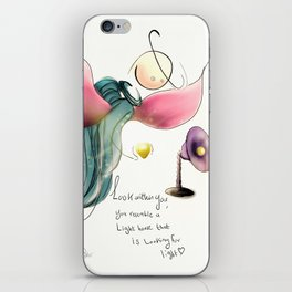 look within you  iPhone Skin