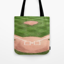 Baseball field Tote Bag