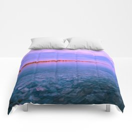 Sky, water and silence Comforters