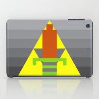 8 bit iPad Cases featuring 8-Bit Hero by Tiny Pixel Designs
