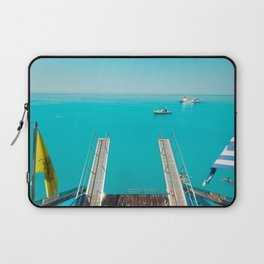 back of a boat Laptop Sleeve