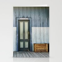 bathroom Stationery Cards featuring Bathroom Doors by Agrofilms