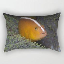 Shocked Punk Anemonefish (one stripe) Rectangular Pillow