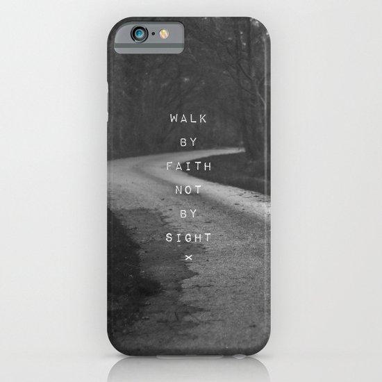 Faith not Sight iPhone & iPod Case