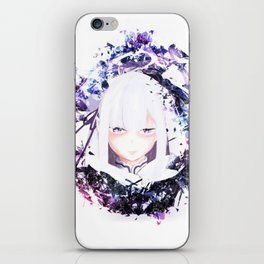 Emilia Best Girl iPhone Skin