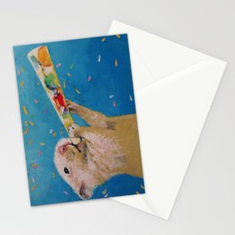 Happy Hamster New Year Stationery Cards