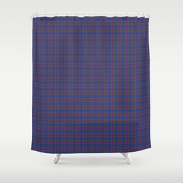 Elliot Tartan Plaid Shower Curtain