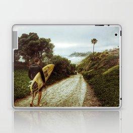 Surfer Boy, Cardiff, California Laptop & iPad Skin