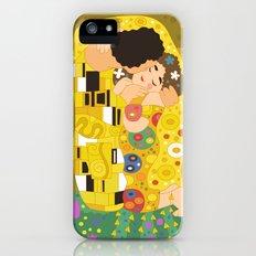 The Kiss (Lovers) by Gustav Klimt  Slim Case iPhone (5, 5s)