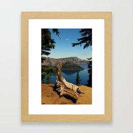 Carter Lake Serenity Framed Art Print