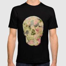skull1 Black MEDIUM Mens Fitted Tee