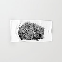 Leaf Hedgehog Hand & Bath Towel