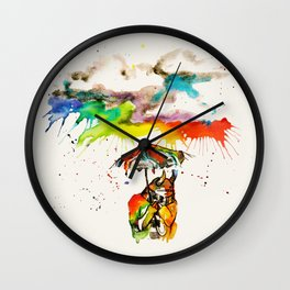 Went For A Walk Wall Clock