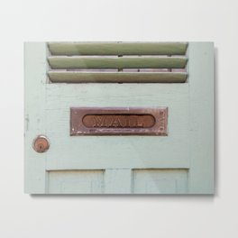 Mail Metal Print