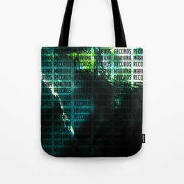 Underwater Words Tote Bag