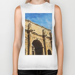 Rome - The Arch of Constantine Biker Tank