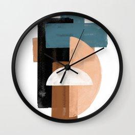 Original Large Art Wall Clock