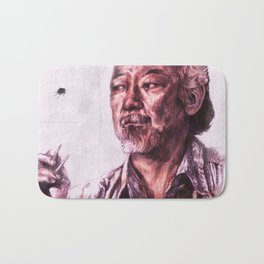 Mr. Miyagi from Karate Kid Bath Mat